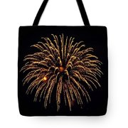 Fireworks - Gold Dust Tote Bag