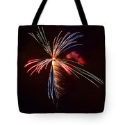 fireworks in Japan Tote Bag
