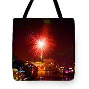 Fireworks In Phoenix Tote Bag