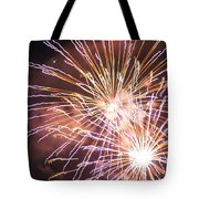 Fireworks In The Park 3 Tote Bag