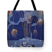 Fireworks In Venice Tote Bag