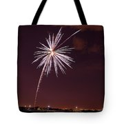 Fireworks July4 2013 Tote Bag