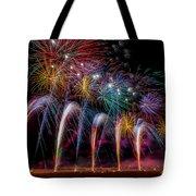 Fireworks Line Tote Bag
