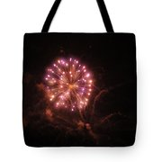 Fireworks Over Puget Sound 2 Tote Bag