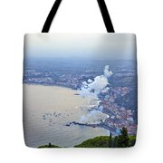 Fireworks Over Sicily Tote Bag