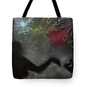Fireworks Proposal Tote Bag