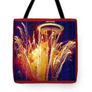 Fireworks Seattle Tote Bag