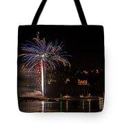 Fireworks Shaldon 2015 Tote Bag