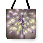 Fireworks  Wildflowers Tote Bag