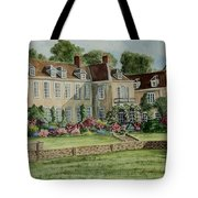 Firle Place England Tote Bag