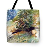 Firs On The Hill Tote Bag