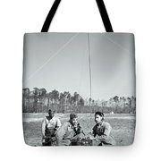 First African American United States Marines 1942 Tote Bag