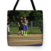 First Base Coach Tote Bag