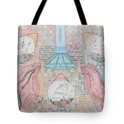 First Bridge With Ships Tote Bag