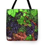 First Came The Grape Tote Bag