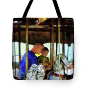 First Carousel Ride Tote Bag