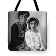 First Communion And Mom Tote Bag
