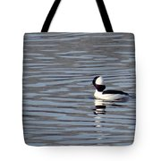 First Day Of Spring Bufflehead2 Tote Bag