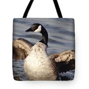 First Day Of Spring Goose Tote Bag