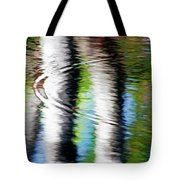 First Drop Water Reflection Tote Bag