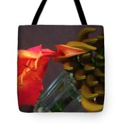 First Flower Tote Bag