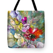 First Flowers Tote Bag