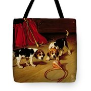 First Introduction Tote Bag by Wright Barker