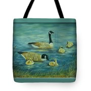First Lesson Tote Bag by Wanda Dansereau