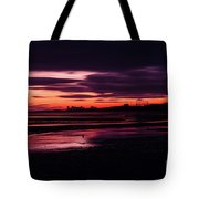 First Light At Granton, From Cramond Tote Bag