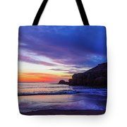 First Light At Trow Rocks. Tote Bag