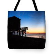 First Light On Beach Road, Falmouth Tote Bag