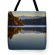 First Light On Fannette Island Tote Bag