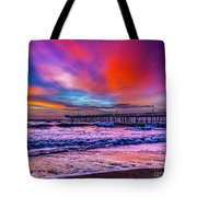 First Light On The Beach Tote Bag