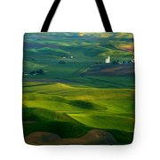 First Light On The Palouse Tote Bag