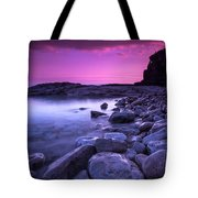 First Light On The Rocks At Indian Head Cove Tote Bag