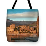First Light Over Collioure Tote Bag