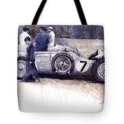 1950 First Met Up Talbot Lago Le Mans 24 Tote Bag