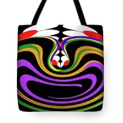 First Move Abstract Tote Bag