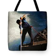 First Nation Fisherman Tote Bag