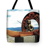First Nation Sculpture Tote Bag