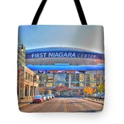 First Niagara Center Tote Bag