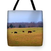 First Nibbles Of Grass Tote Bag