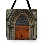 First Presbyterian Church Door Tote Bag
