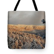 First Rays Of The Day Tote Bag