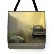 First Run Of The Day, Monhegan Island  Tote Bag