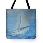 First Sail Tote Bag