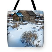 First Snow  Bodie Tote Bag