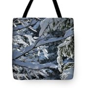 First Snow II Tote Bag