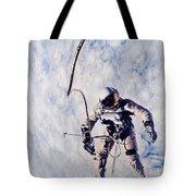 First Spacewalk Tote Bag