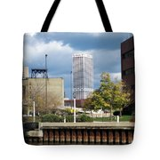 First Star View From River Tote Bag